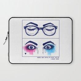 Harley Quinn. Awake for evil. Laptop Sleeve
