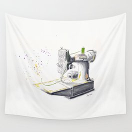 Vintage Singer Featherweight 221 Wall Tapestry