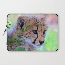 Aqua_Cheetah_20180102_by_JAMColorsSpecial Laptop Sleeve
