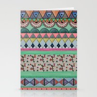 ethnic Stationery Cards featuring  Ethnic  by moniquilla
