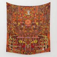 apollo Wall Tapestries featuring Apollo by mattmacpherson