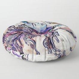 Unleaving Floor Pillow