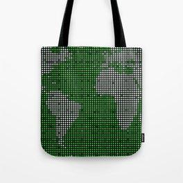 green map Tote Bag