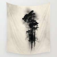 swedish Wall Tapestries featuring Enchanted forest by Nicklas Gustafsson