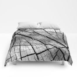 Old deep woodgrain Comforters