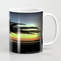 palm Mugs featuring Palm by Chris' Landscape Images & Designs