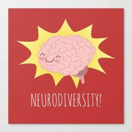 Neurodiversity! Canvas Print