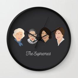 The Supremes Wall Clock