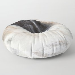 Falls with Iron Content Floor Pillow