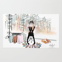 shoe Area & Throw Rugs featuring Shoe Boutique by Sonya Parra