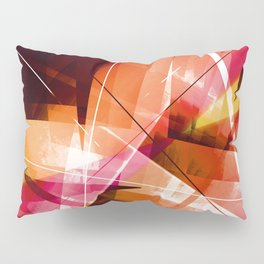Outbreak - Geometric Abstract Art Pillow Sham