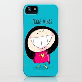 Good Vibes #happywoman iPhone Case