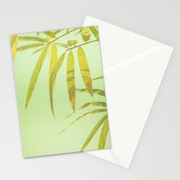 Bamboo green Stationery Cards