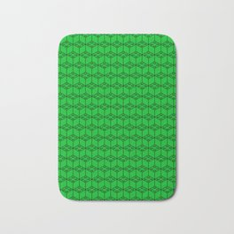 building brick blocks green Bath Mat