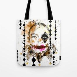 Harlequinn Tote Bag