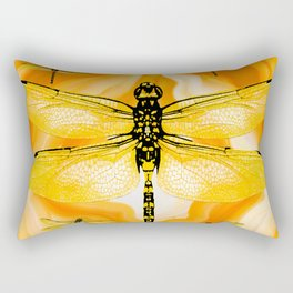 DRAGONFLY IN AGATE Rectangular Pillow