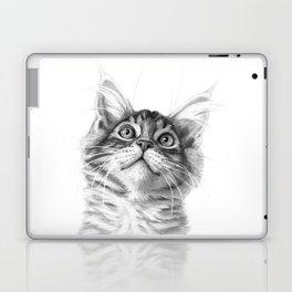 Kitten looking up G115 Laptop & iPad Skin