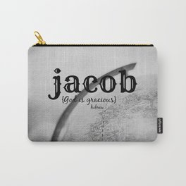 Jacob God is gracious Carry-All Pouch