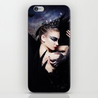 swan queen iPhone & iPod Skins featuring Odile - Swan Queen  by Jay Aheer