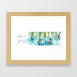 Swamp Framed Art Print