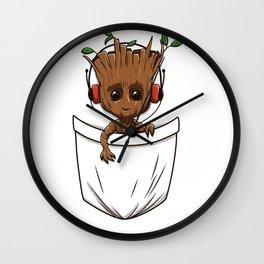 Pocket Tree Wall Clock