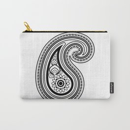 Paisley Carry-All Pouch