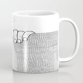 Fog will not let you see Coffee Mug