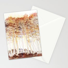 Abstract Monterey Cypress In Infrared with Tint Overlay Stationery Cards