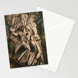 Marcel Duchamp Nude Descending A Staircase No. 2 Stationery Cards