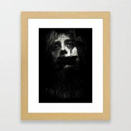 silenced Framed Art Print