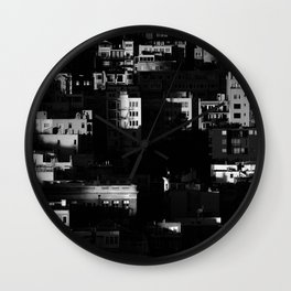 Chiaroscuro Morning Wall Clock