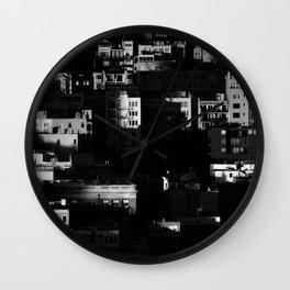 Chiaroscuro Morning Wall Clock