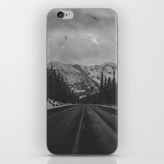 December Road Trip in the Pacific Northwest iPhone Skin