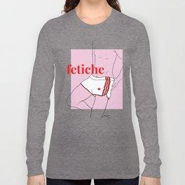 fetiche #3 (pink) Long Sleeve T-shirt