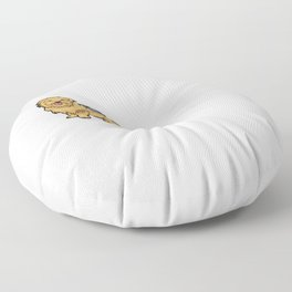 Liebe - Yorkshire Terrier - Mond Floor Pillow