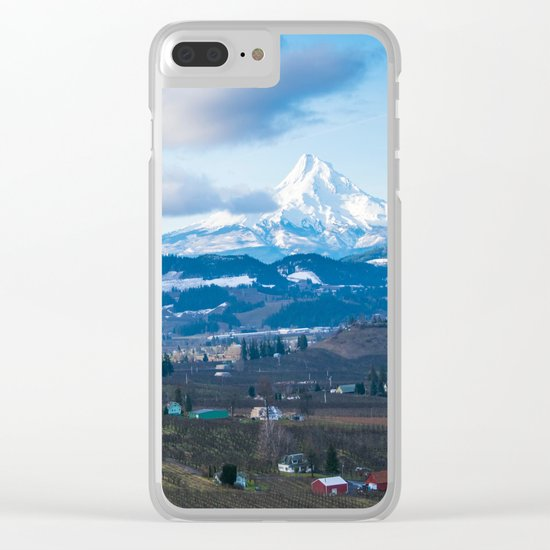 Hood River Clear iPhone Case