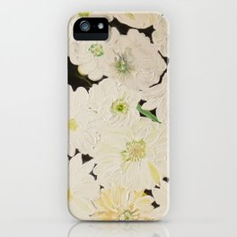 Midnight Blossoms iPhone Case