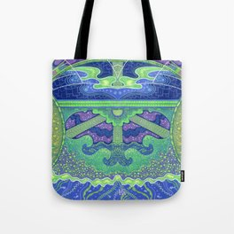 Dream of the fullmoon (mirrored version) Tote Bag
