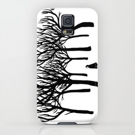 A Tangle of Trees iPhone Case