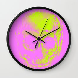 Retro Skull Wall Clock