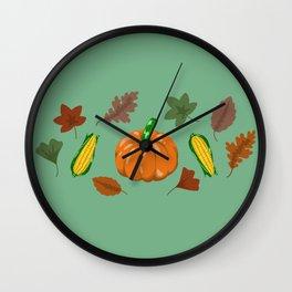 Fall #2 Wall Clock