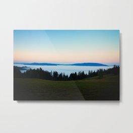 Redwood Creek Valley Sunrise Metal Print