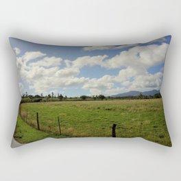 Open Fields Rectangular Pillow