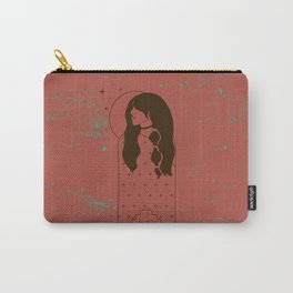 Moon Maiden in Adobe Carry-All Pouch