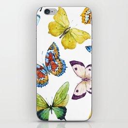 Butterfly Pattern 01 iPhone Skin