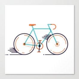 speed bike Canvas Print
