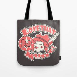 Pink Pop Tote Bag