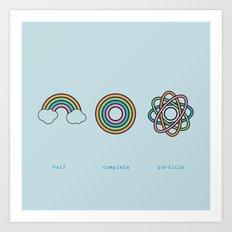 Particle Art Print