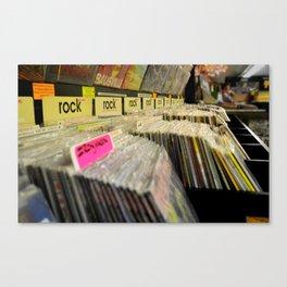 vinyls Canvas Print