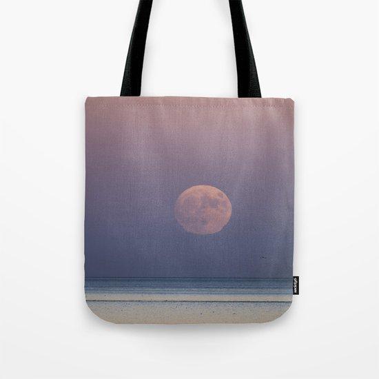 Sunset Moonrise Tote Bag